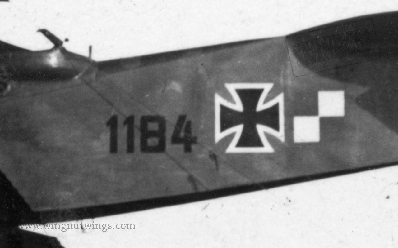 Fuselage detail Hansa-Brandenburg W.12 1184 (0087-019)