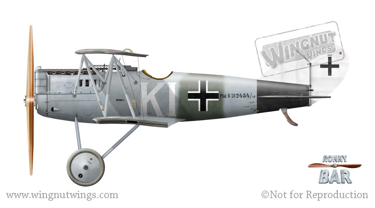 Pfalz D.XII 2454/18 'KI', Jasta32b(?),