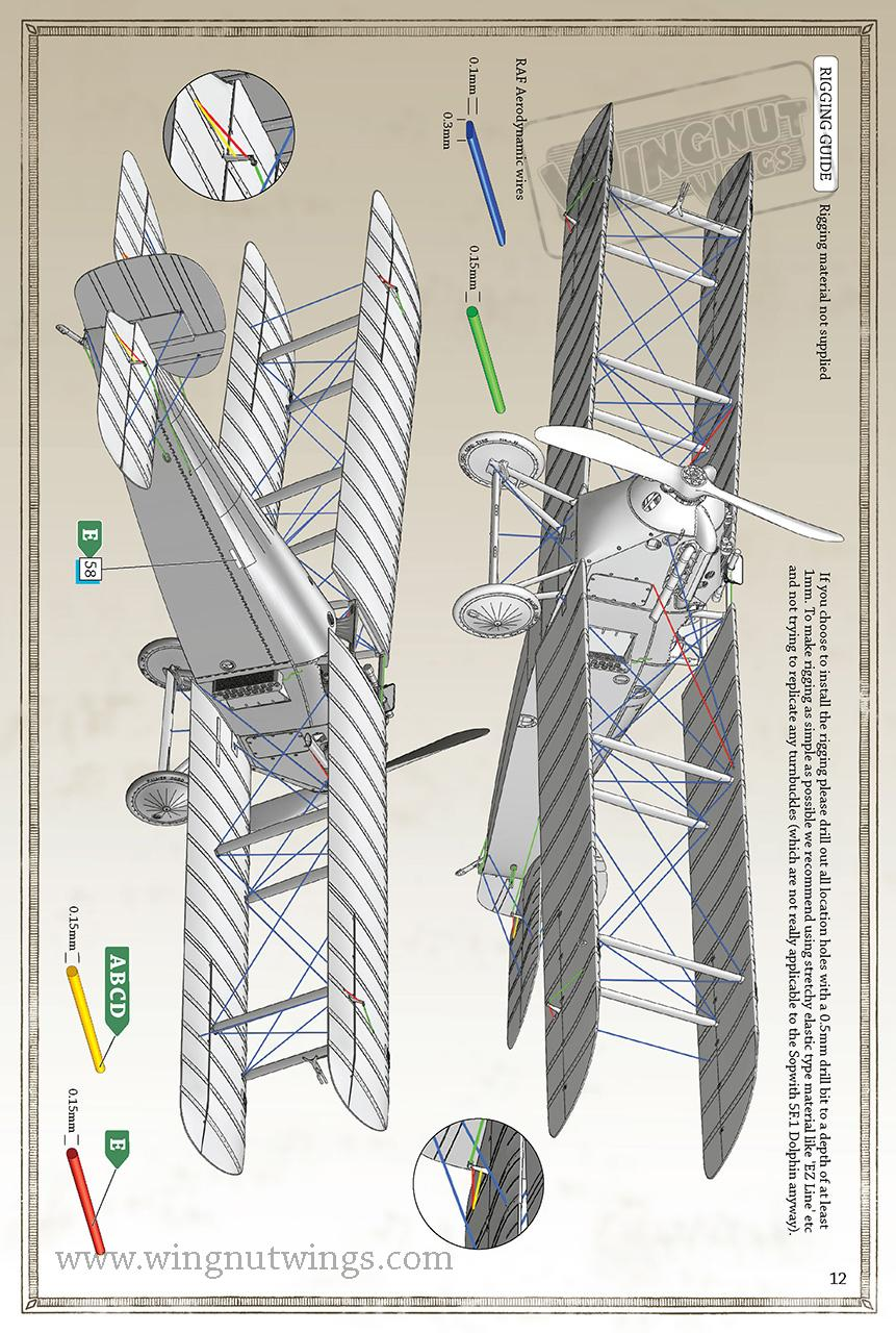 Wingnut Wings 1 32 Sopwith 5f1 Dolphin Wiring Diagrams 7132073 Page 12