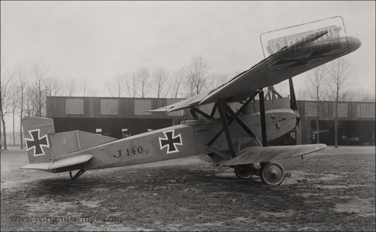 Junkers J.1 140/17 right side view